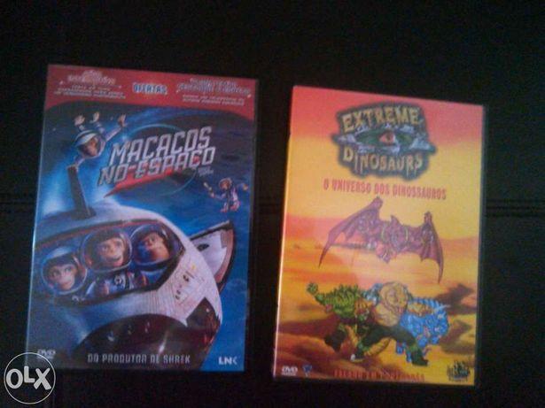 Dvd O universo dos dinossauros