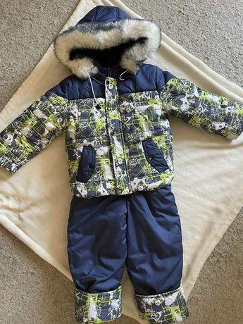 Комбинезон детский зимний на мальчика 86-98