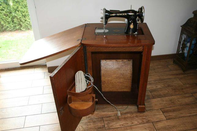 Stara maszyna do szycia elektryczna SINGER