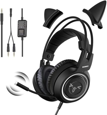 Słuchawki gamingowe Somic G951S Black