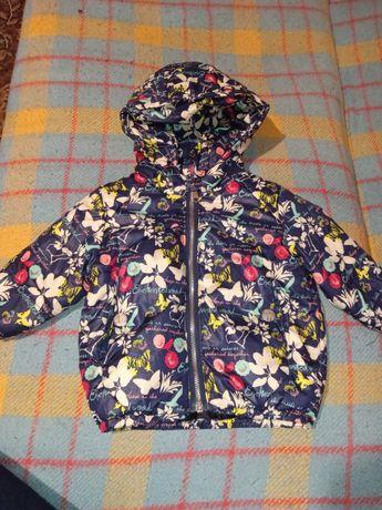 Осенняя курточка на девочку