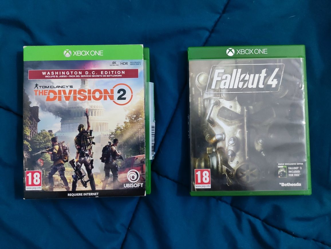 Xbox one - the division 2 / fallout 4