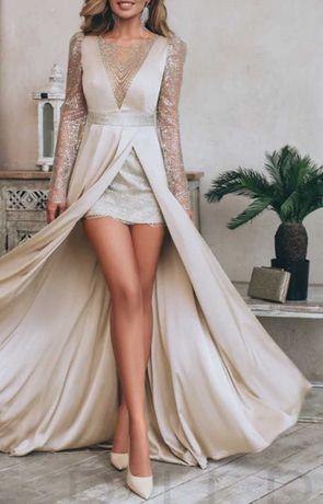 Вечернее платье эксклюзивной линии от дизайнеров Gepur. Новое.
