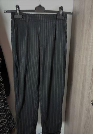 Spodnie w paski stradivarius