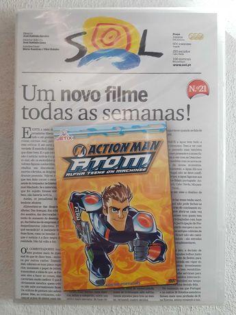 Action Man A.T.O.M. - DVD- Selado