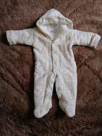 Детский комбинезон утеплённый (человечек)