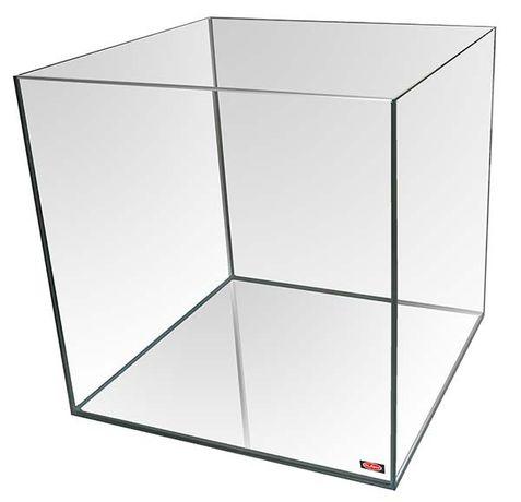 Aquário cubo em vidro 25x25x28cm (novo)
