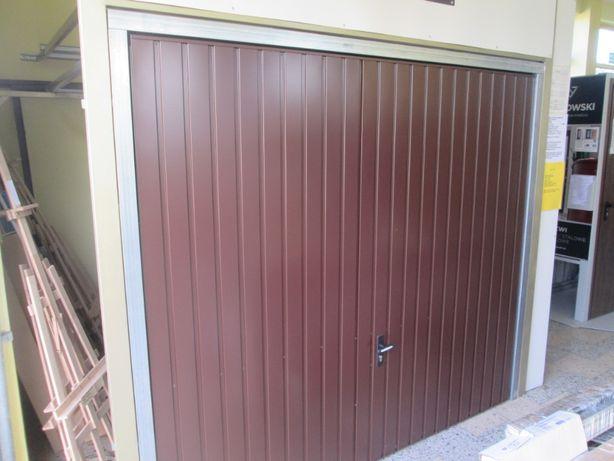 brama garażowa  Wiśniowski do otworu o szer ok. 2,5 x 2,10