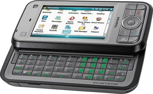 Toshiba Portege G900: 3G смартфон коммуникатор (qwerty) - Япония