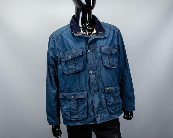 Фирменная непромокаемая куртка Barbour Retail Utility Jacket.Belstaff