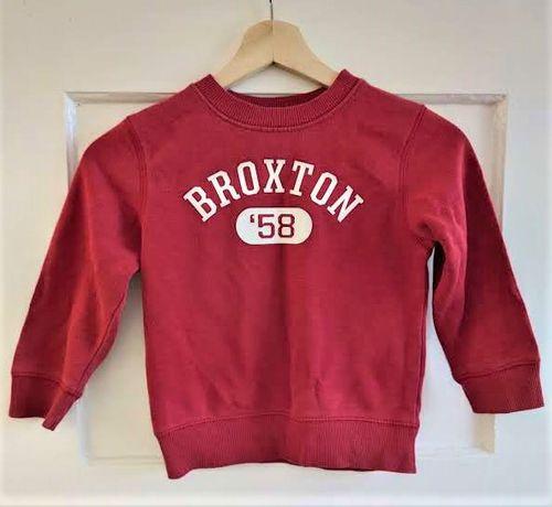 Czerwona bluza H&M 98/104