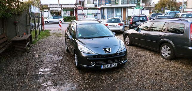 Peugeot 207 - solardach