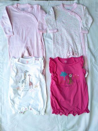 Jak nowe śliczne pajace pajacyk piżamki rampersy smyk cool club 68