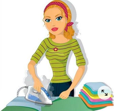 Passar/ engomar a roupa a ferro