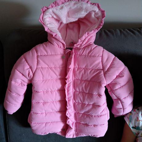 Kurtka zimowa Kanz 86 Kurtka na polarze Kurtka dla dziewczynki