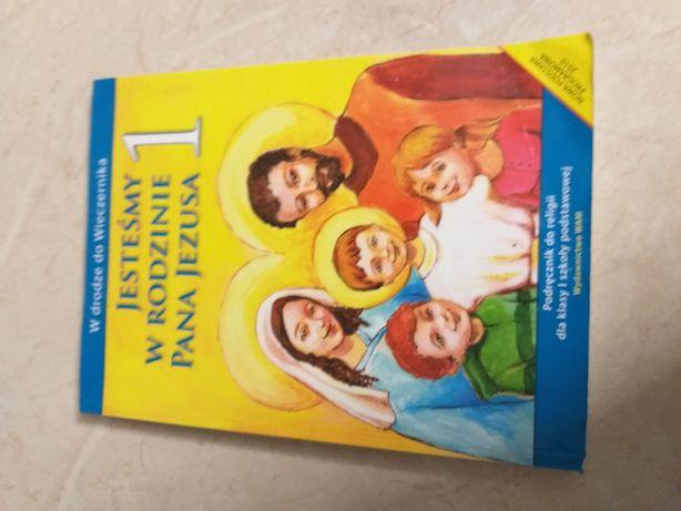 Książka podręcznik religii WAM Jesteśmy w rodzinie Pana Jezusa klasa 1