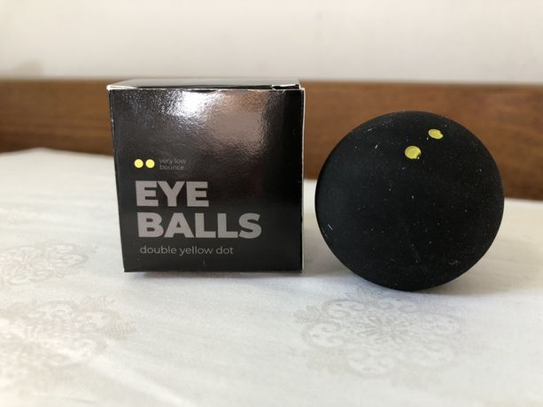 EYE Double Yellow Dot piłka do squasha