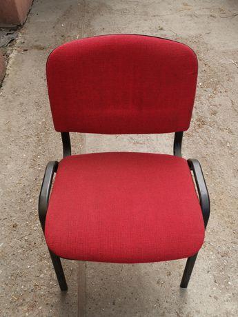 Krzesło metalowe tapicerowane
