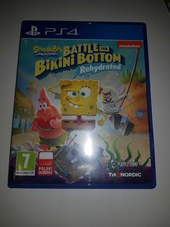 Spongebob Kanciastoporty: Battle for Bikini Bottom PS4 PL
