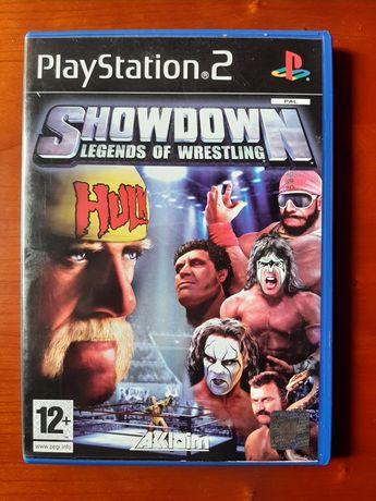 Showdown Legends of wrestling playstation 2