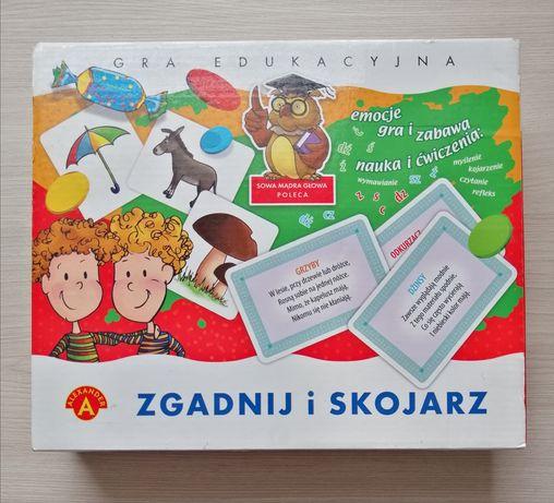 Logopedyczna gra edukacyjna Zgadnij i Skojarz