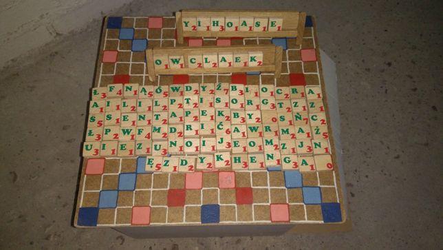 Scrabble - własnoręcznie wykonane