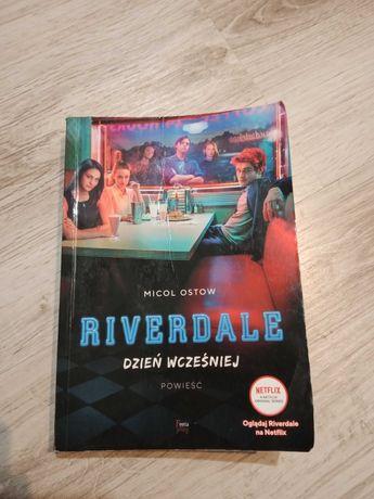 Książka ' riverdale dzień wcześniej'