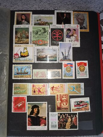 Stare znaczki pocztowe klaser