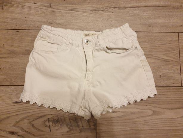 Spodenki Zara 164cm białe