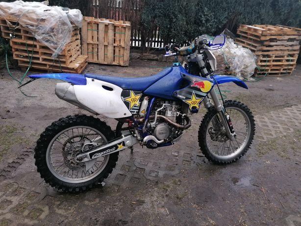 Yamaha WR400F zarejestrowana opłacona