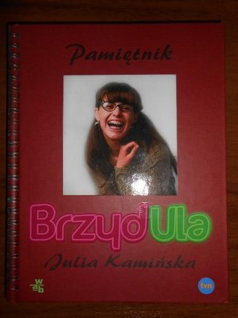 """Książka """"Pamiętnik BrzydUla"""""""