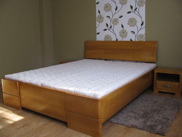 SOLIDNE łóżko 160x200 drewniane bukowe 100% lity buk PRODUCENT