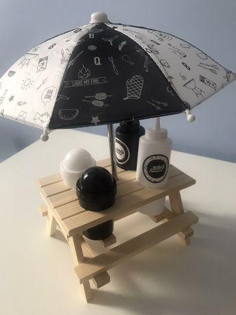 Zestaw do sosow z parasolka nowy