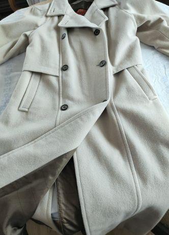Gil Bret - długi płaszcz wełniany - okazja!