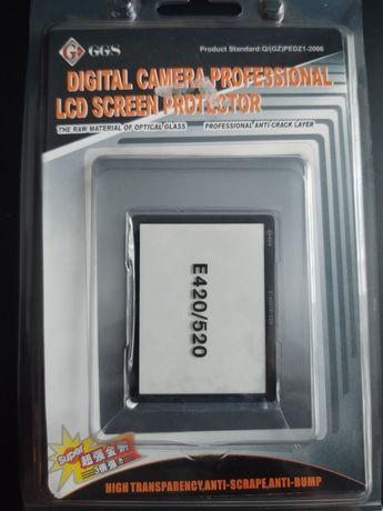 Szkło ochronne na wyświetlacz Olympus E-420 E-520