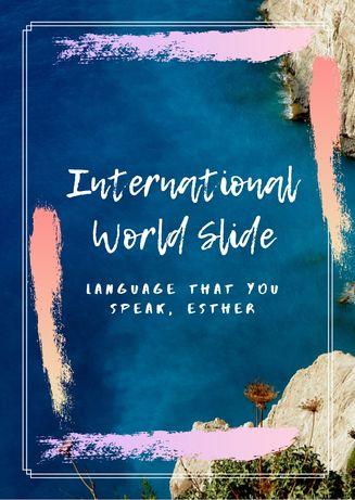 Онлайн-школа и бюро переводов International World Slide - курс языка