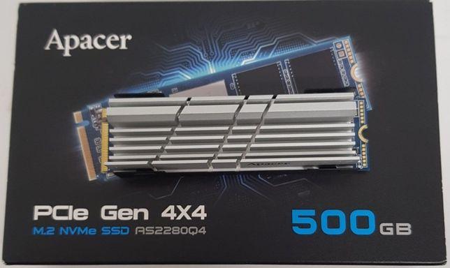 SSD Apacer AS2280Q4 500GB NVMe M.2 PCIe 4.0 x4 (AP500GAS2280Q4-1)