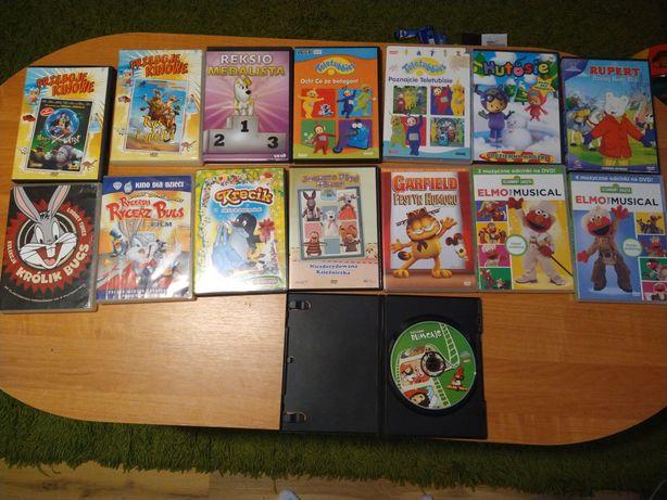 Bajki DVD królik Bugs, teletubisie i inne