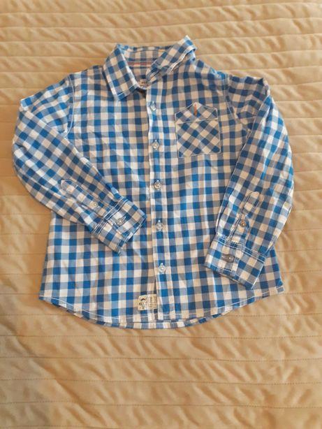 Casualowa koszula w krate reserved r.110