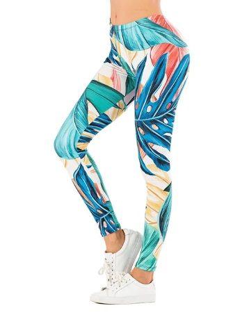 Super legginsy - piękny wzór - rozmiar uniwersalny - NOWE
