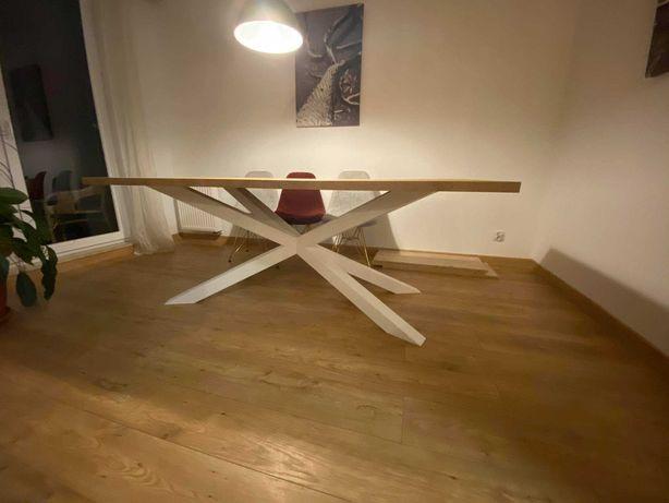 Stół do salonu, jadalni, kuchni, pająk, metalowe nogi 200x100 PROMOCJA
