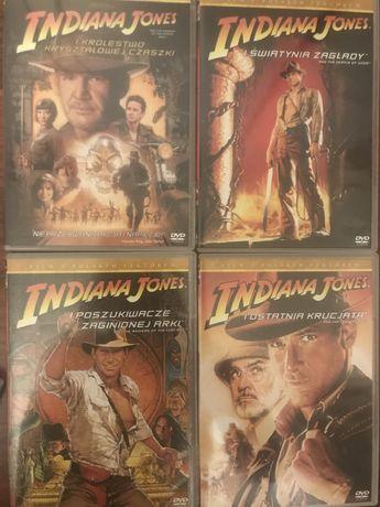Indiana Jones DVD wszystkie części