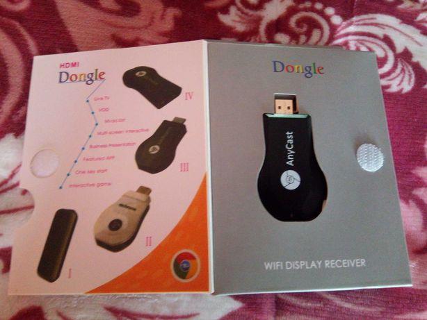 Chrome cast, HDMI Dongle. C/ novo