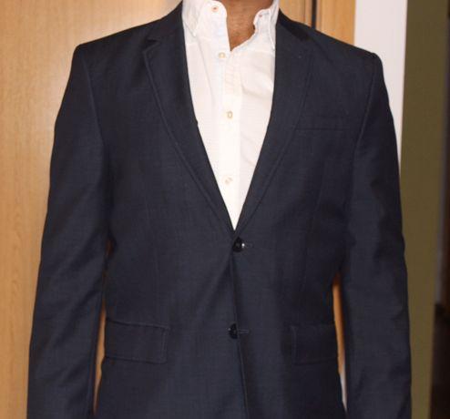 Blazer azul Zara