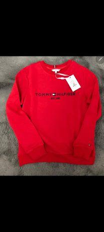 Czerwona bluza damska Tommy Hilfiger