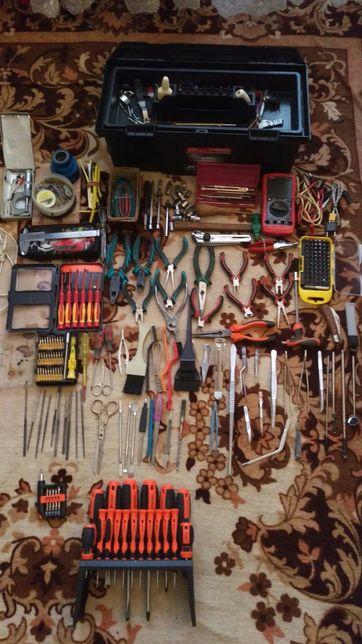 Инструмент для дома и умельцев - штангенциркуль пассатижи бормашина
