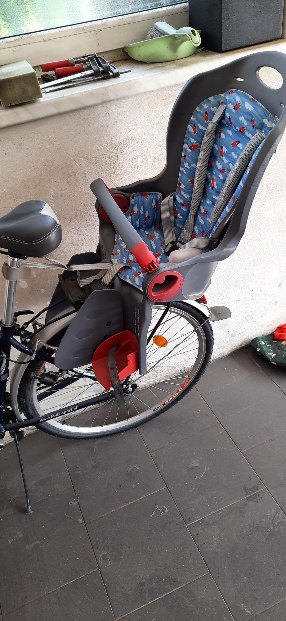 Fotelik rowerowy firmy Giant