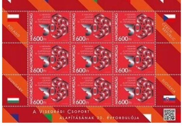 30. rocznica utworzenia Grupy Wyszehradzkiej ( wersja węgierska)