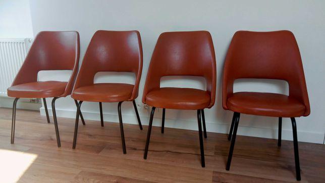 Krzesło muszelka PRL, Meblomet