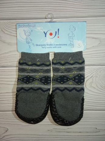 Тапочки пинетки носки чешки